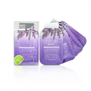 Voesh Deluxe Pedicure - 4 Step Spa Treatment - Lavender