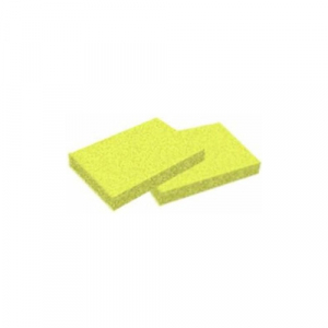 Cre8tion Disposable Mini Pumice Sponge, 28064, Yellow, 300 pcs./box