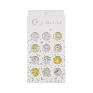 CH Nail Rhinestones Collection, 10, 98660