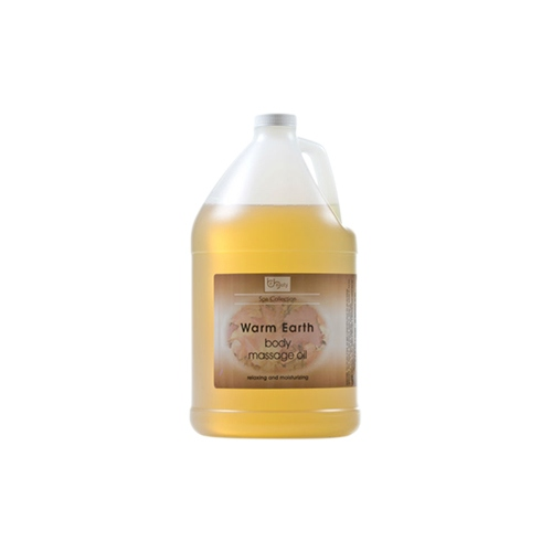 Be Beauty Spa Collection, Massage Oil, Warm Earth