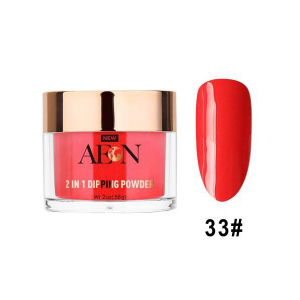 Aeon Dipping Powder, 033, Redlight Redlight, 2oz OK0326LK