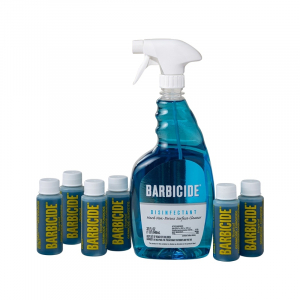 Barbicide Spray with Bullets (Package of 6pcs bottles 2oz & empty spray bottle) OK0428LK