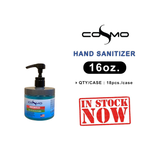 Cosmo Hand Sanitizer Gel, 16oz OK0411MD
