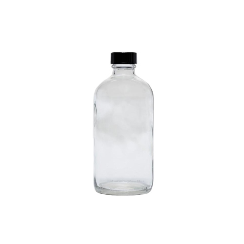 Cre8tion Clear Glass Bottle 8oz 26089