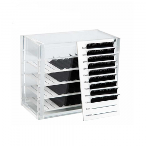 Lash Storage With 5 Trays