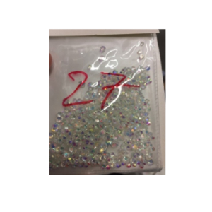 Mixed Nail Art Rhinestone 29