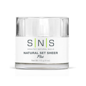 SNS Dipping Powder, 04, Natural Set Sheer, 4oz, 40pcs/case OK0118VD