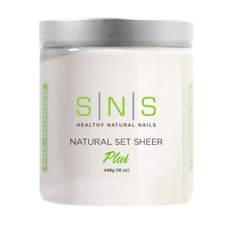 SNS Dipping Powder 04 Natural Set Sheer