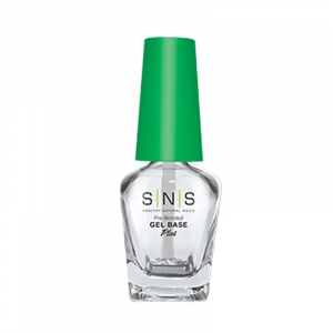 SNS Glass Bottle, Gel Base (Green Cap), 0.5oz, 84pcs/case OK0118VD
