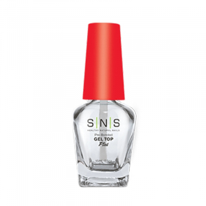 SNS Glass Bottle, Gel Top (Red Cap), 0.5oz, 84pcs/case OK0118VD