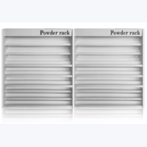 Madison Powder Wall Rack 84
