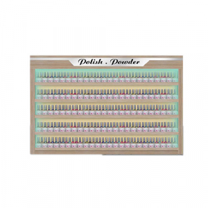Bellagio I Polish & Powder Rack With LED