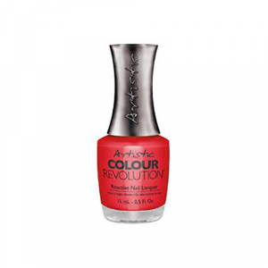 Artistic Colour Revolution, 2303058, Hotzy, Bright Red Crème, 0.5oz