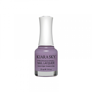 Kiara Sky Nail Lacquer, N506, I Like You A Lily, 0.5oz KK0824