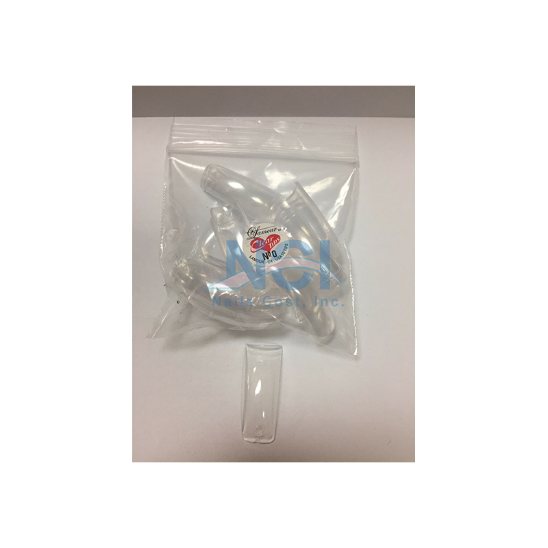 Lamour Clear Tips (SMALL BAG) #00
