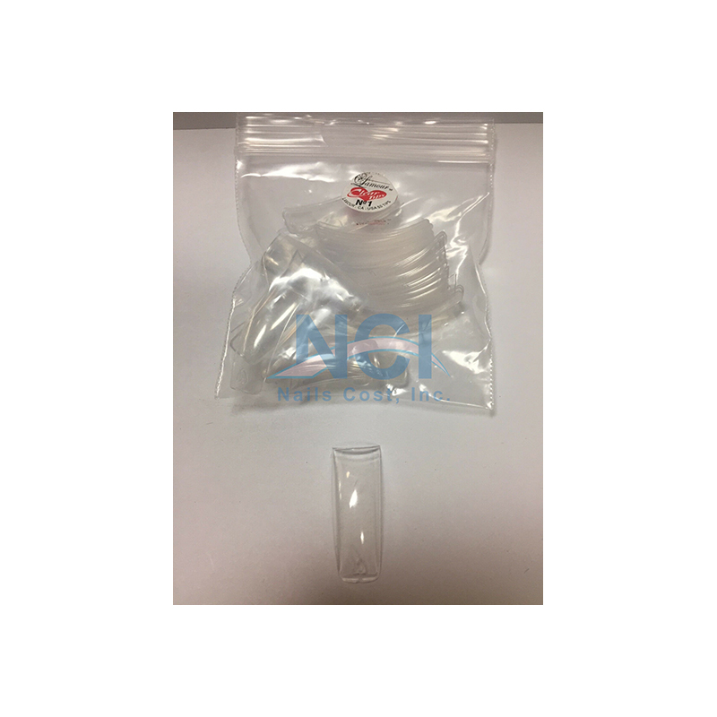Lamour Clear Tips (SMALL BAG) #01