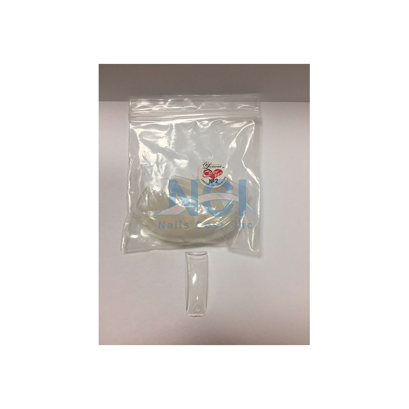 Lamour Clear Tips (SMALL BAG) #02