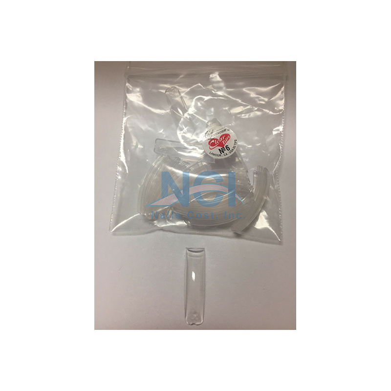 Lamour Clear Tips (SMALL BAG) #06