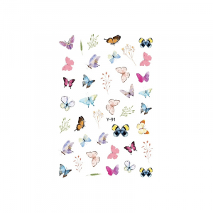 Butterfly Sticker Y91