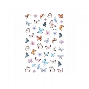 Butterfly Sticker Y90