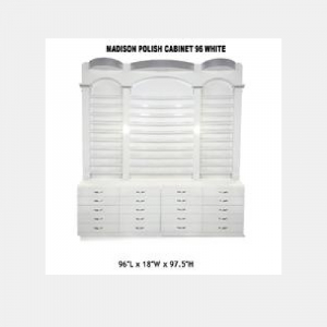 Bellagio II Polish Cabinet 96 White