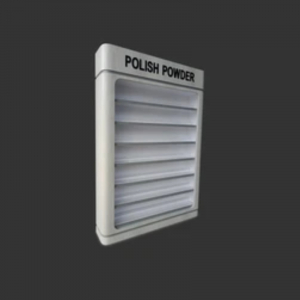 Taylor Polish Powder Wall Rack