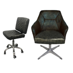 Combo Kori Customer & Dover Technician Chair Crocodile