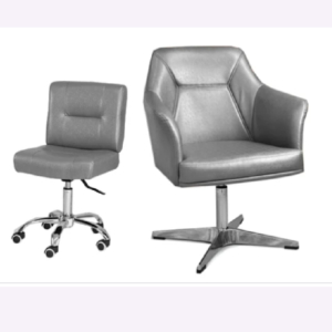 Combo Kori Customer & Dover Technician Chair Silver