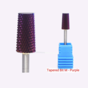 Tapered Bit M - Nail Drill Bit (purple)