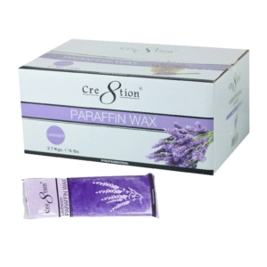 Cre8tion Paraffin Wax, Lavender, Case of 6 Boxes