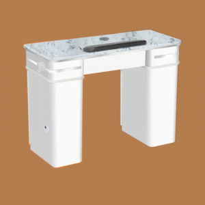 Bellagio II Single Table White Ventilation