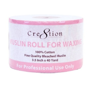 Cre8tion Muslin Waxing Roll, 40 Yards x 3.5