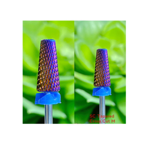 SC Tapered Cross Cut M - Nail Drill Bit (purple)