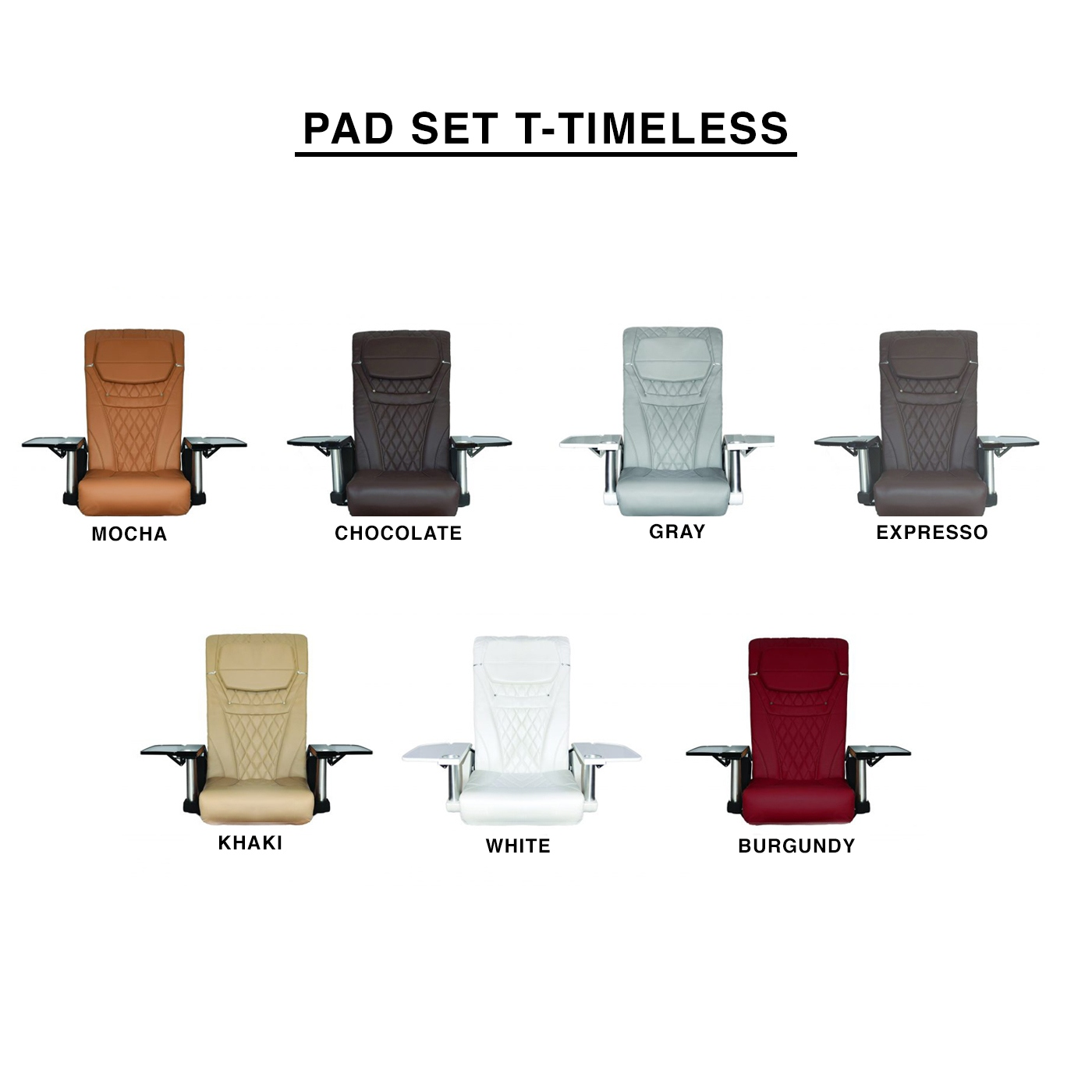 Pad Set T-Timeless