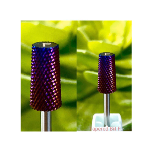Tapered Bit F - Nail Drill Bit (purple)