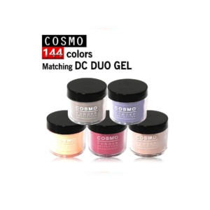 Cosmo Dipping Powder (Matching DC Duo Gel), 2 Oz, Full line of 144 colors KK1009