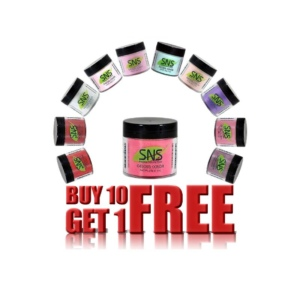 SNS Gelous Color, 1 Oz, Buy 10 get 1 FREE For Old Jars Only