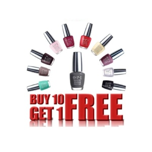 OPI Infinite Shine, 0.5 Oz, Buy 10 Get 1 Free