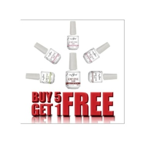Cre8tion Cat Eye Jade Gel Polish, 0.5 Oz, Buy 5 Get 1 Free