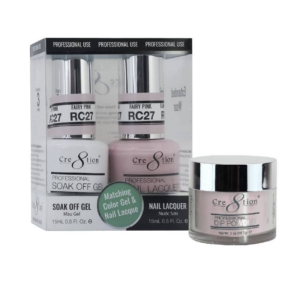Cre8tion 3in1 Dipping Powder + Gel Polish + Nail Lacquer, Rustic Collection, RC27 KK1206