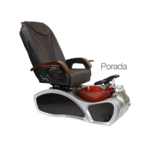 Porada, Pedicure Spa Chair, Sandriff Chocolate KK (Not Included Shipping Charge)