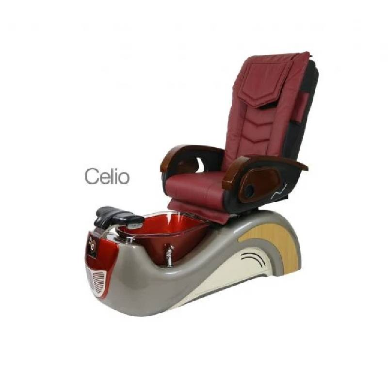 Celio, Pedicure Spa Chair, Sandriff Burnt Sienna KK (NOT Included Shipping Charge)
