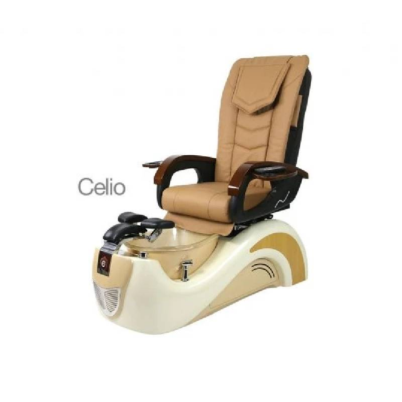 Celio, Pedicure Spa Chair, Cream Coffee Milk KK (NOT Included Shipping Charge)