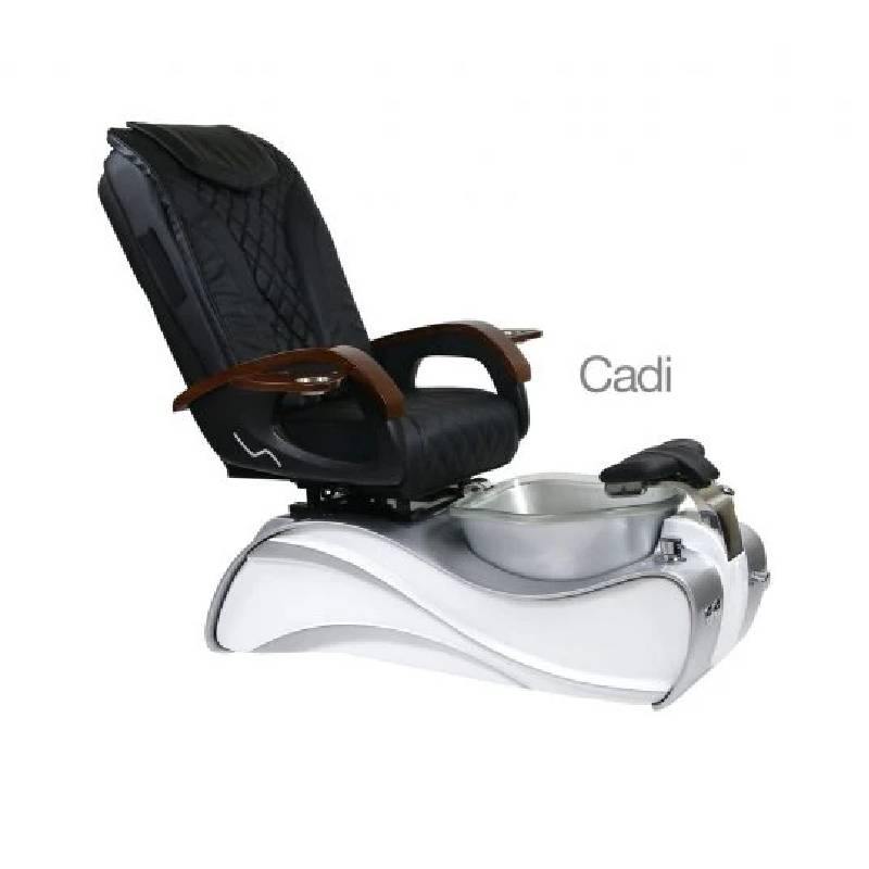Cadi, Pedicure Spa Chair, White Silver KK (NOT Included Shipping Charge)