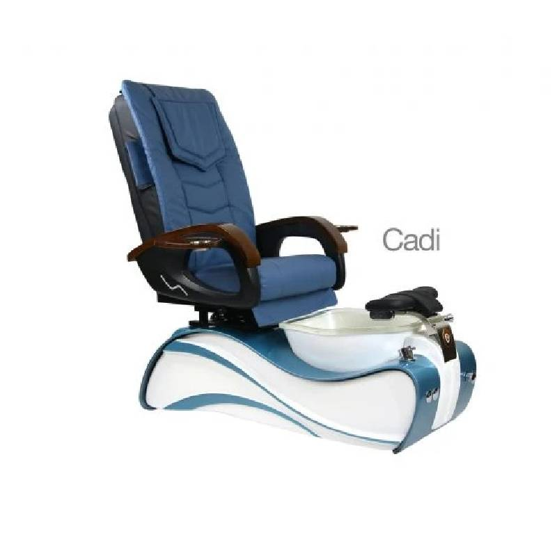 Cadi, Pedicure Spa Chair, Blue White KK (NOT Included Shipping Charge)