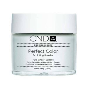 CND Pure White Opaque Powder 3.7 Oz.