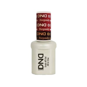 DND - Mood Change Gel - Burgundy to Red Wine 0.5 oz - #D01