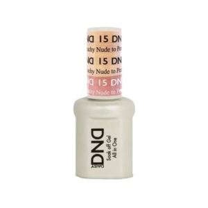 DND - Mood Change Gel - Nude to Peachy 0.5 oz - #D15