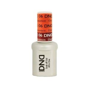 DND - Mood Change Gel - Orange to Cinnamon 0.5 oz - #D06