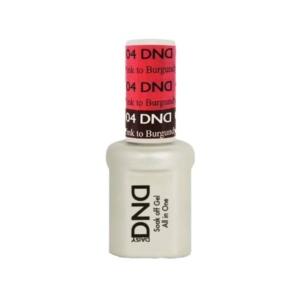 DND - Mood Change Gel - Pink to Burgundy 0.5 oz - #D04